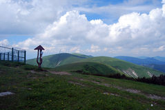 View from Kriznahill on Velka Fatra Royalty Free Stock Photography
