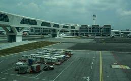 View of Kuala Lumpur Airport KLIA stock photography