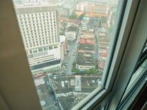 View of Kuala Lumpur City Environment From Hotel Window - Kuala. Lumpur, Malaysia stock photography