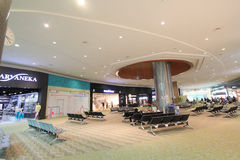 View of Kuala Lumpur International Airport Stock Photography
