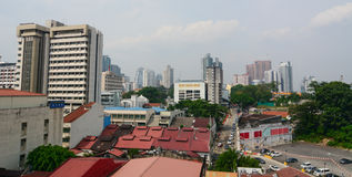 View of the Kuala Lumpur, Malaysia Stock Images