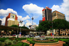 View of the Kuala Lumpur Royalty Free Stock Photography