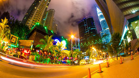 View on Kuala Lumpur at night Royalty Free Stock Photography