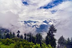 View of Kulu valley Stock Images