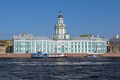 Kunstkamera in Saint Petersburg, Russia Stock Photography