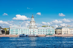View of the Kunstkamera in Saint Petersburg, Stock Images