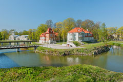 View of Kuressaare Royalty Free Stock Photo