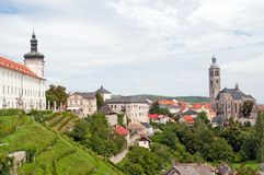 View of Kutna Hora Royalty Free Stock Photo