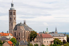View of Kutna Hora Stock Photo