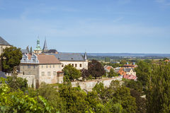 View of Kutna Hora from Saint Barbara's Church Royalty Free Stock Photos