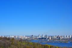 View of Kyiv Stock Photo
