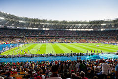 View of Kyiv's Olympic Stadium Royalty Free Stock Photos
