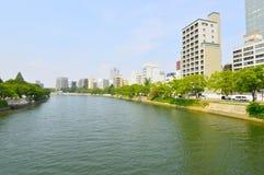 View Kyobashi gawa river Royalty Free Stock Images