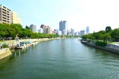 View Kyobashi gawa river Royalty Free Stock Photos