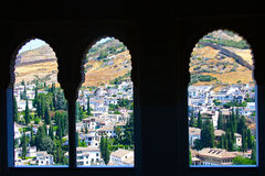 View from La Alhambra Royalty Free Stock Photo