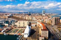 View of La Barceloneta. Barcelona Stock Photo