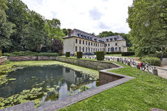 View of La Cambre, Brussels Royalty Free Stock Photography