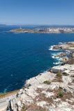 View of La Coruña Royalty Free Stock Images