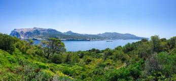View of la Dragonera Island, Mallorca Royalty Free Stock Photography
