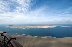 View on La Graciosa island Stock Photography