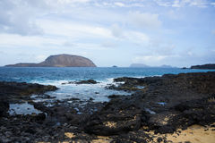 View on La Graciosa Royalty Free Stock Images