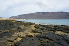 View on La Graciosa Royalty Free Stock Photos