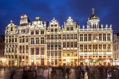 La Maison des Brasseurs, Brussels, Belgium. View of the La Maison des Brasseurs on Grand Place in Brussel, Belgium Royalty Free Stock Photography