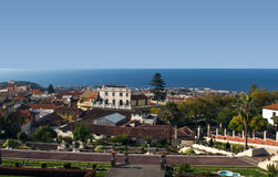 View of La Orotava from gardens Stock Photography
