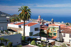 View on La Orotava, Tenerife, Spain Stock Images