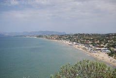 View of La Playa stock images