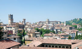 View From La Rocca Gardens Royalty Free Stock Photography