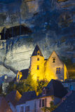 View of La Roque-Gageac Royalty Free Stock Photography