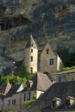 View of La Roque-Gageac Royalty Free Stock Photo