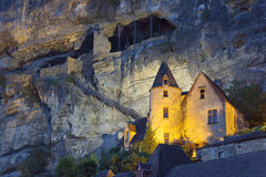 View of La Roque-Gageac Royalty Free Stock Image