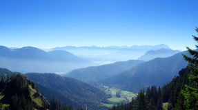 View from the Laber mountain Royalty Free Stock Image