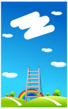 The view of Ladder Stock Images