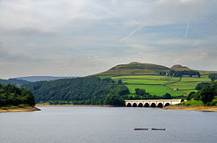 View of Ladybower Reservoir, Derbyshire Royalty Free Stock Photos