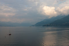 View of Lago Maggiore Royalty Free Stock Photography