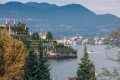 View of Lago Maggiore Stock Photo