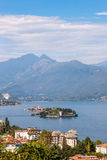 View of Lago Maggiore Stock Photography