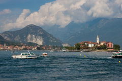 View of Lago Maggiore Royalty Free Stock Photos