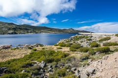 View of Lagoa Comprida Royalty Free Stock Image