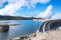 View of Lagoa Comprida Royalty Free Stock Photography