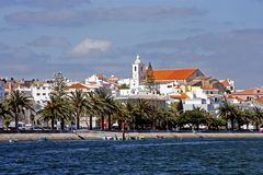 View at Lagos. In Portugal Stock Photo