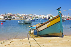 View on Lagos in Portugal Stock Photos