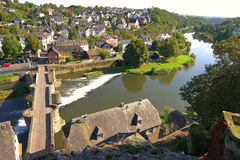 View of the Lahn Valley Stock Images