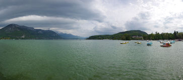 View of the lake of Annecy Stock Image
