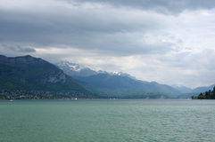View of the lake of Annecy Royalty Free Stock Images