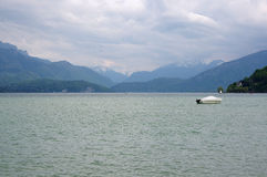 View of the lake of Annecy Stock Photo