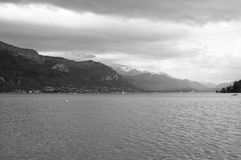View of the lake of Annecy Stock Images